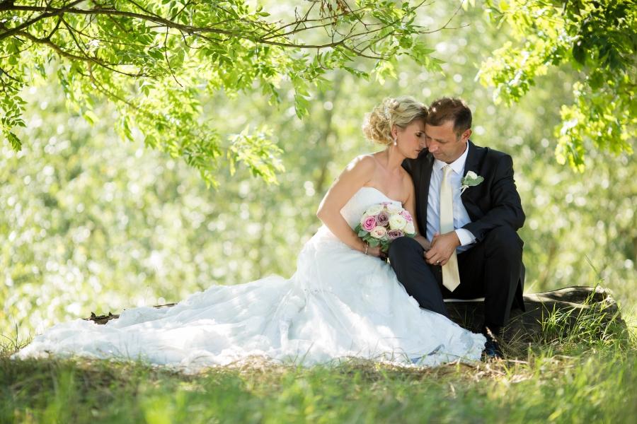 Svatební den Gabči a Michala