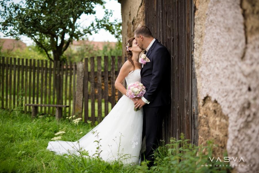 Svatební den Jitky a Filipa