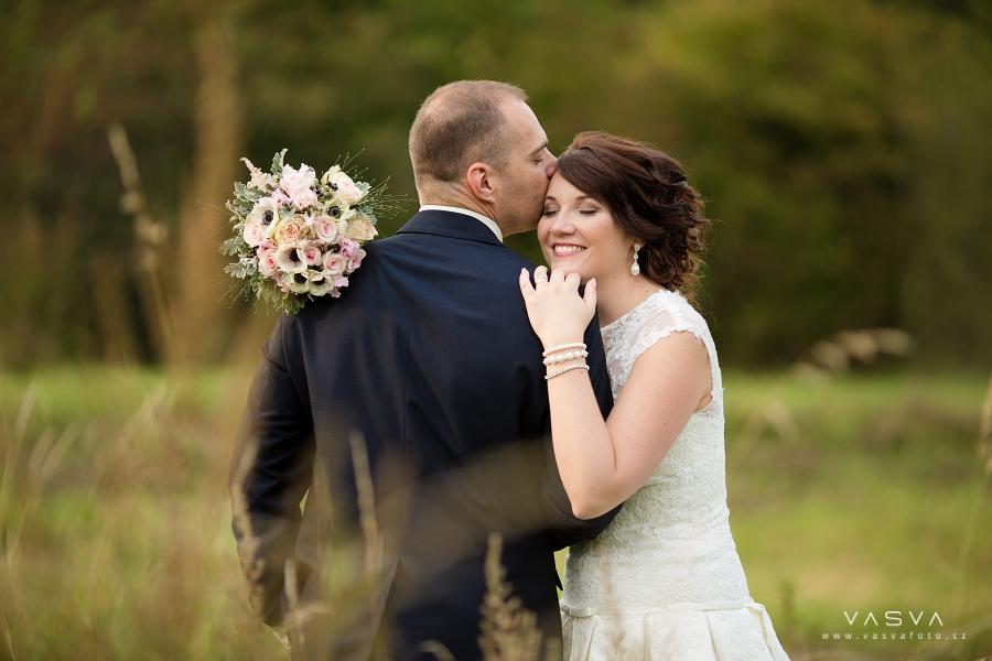 Svatební den Silvie a Lukáše